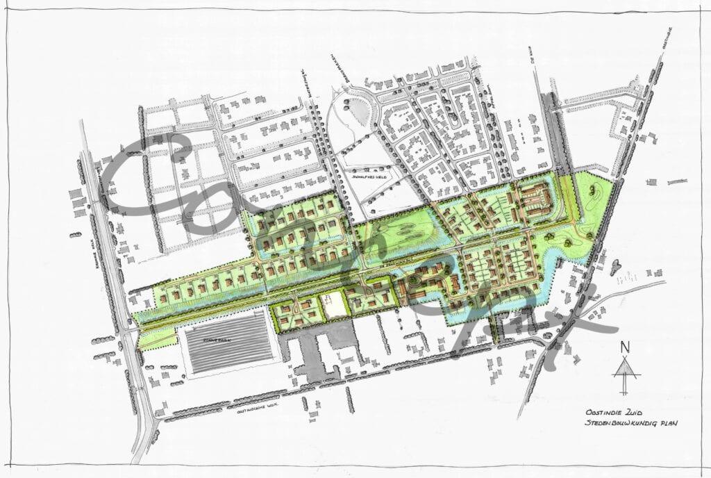 Concept nieuw plan Oostindie Zuid